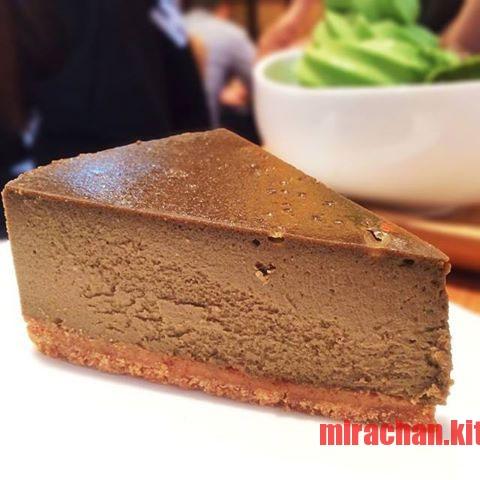 houjicha cheese cake