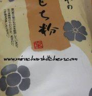 Bột Mochiko – Dùng để làm các loại bánh Mochi