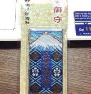 Bùa thêu núi Phú Sĩ cầu chúc thành đạt trong công việc