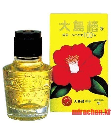 Dầu dưỡng tóc tinh dầu hoa trà Oshima