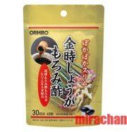 Thuốc giảm cân từ gừng và giấm đen Okinawa