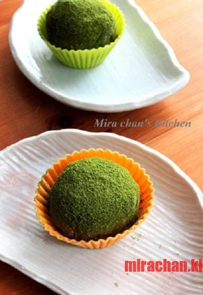 Matcha Daifuku & Azuki Cream