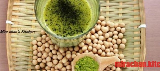 Sữa đậu nành trà xanh – Matcha Soymilk