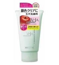 AHA facial wash