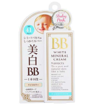 Baby Pink White BB Mineral Cream