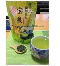Trà xanh đậm đặc – Ryoku cha, dạng lá sấy khô