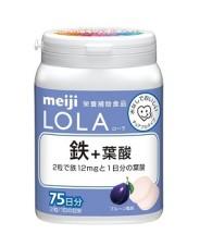 Viên acid folic và chất sắt của Meiji Lola