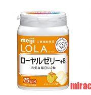 Viên vitamin B và sữa ong chúa Royal Yelly Meiji Lola