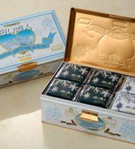 Shiroi Koibito hộp thiếc 54 cái ( 36 white , 18 black)
