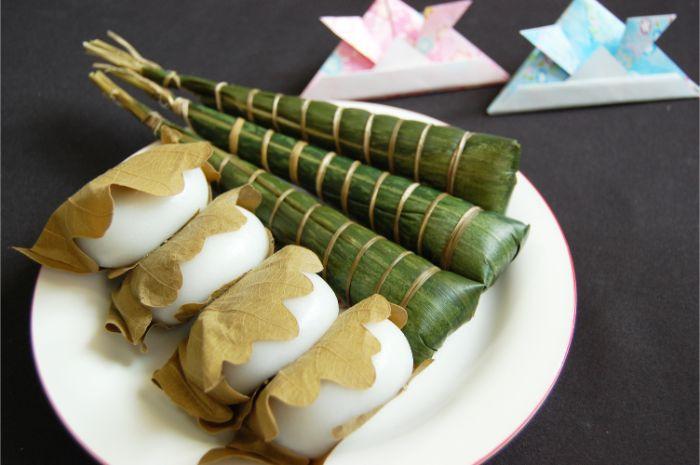 bánh Kashiwa mochi và Chimaki Ngày trẻ em ở Nhật