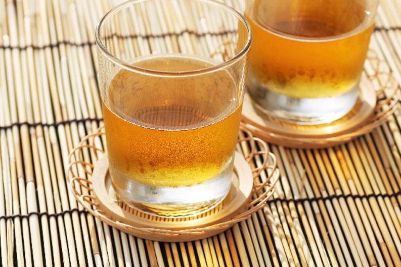chống nóng mùa hè với trà lúa mạch Mugicha