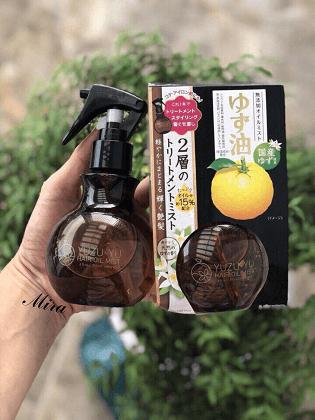 Xịt dưỡng tóc quýt Nhật