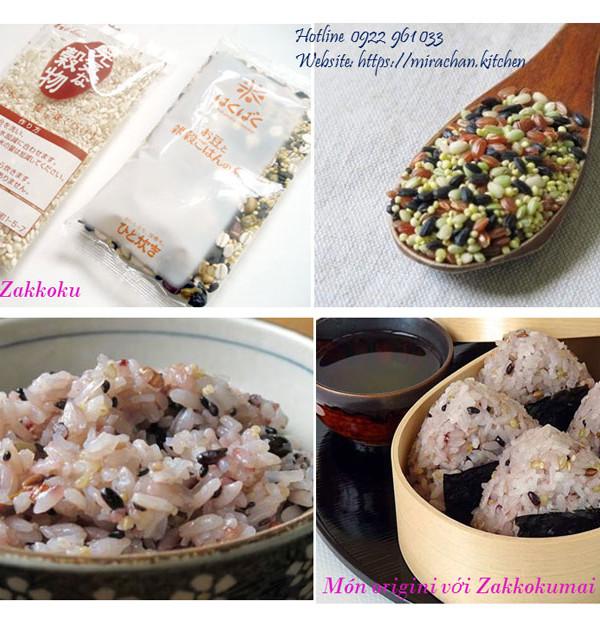 Gạo trộn Zakkokumai