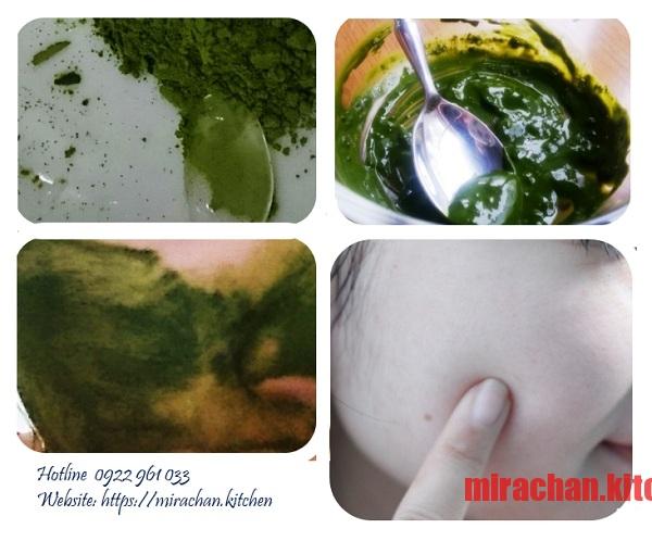 Công thức Matcha Home made từ matcha powder