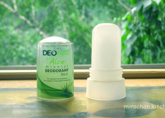 Đá khoáng khử mùi Deonat không có màu và mùi