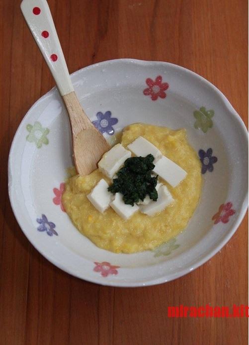 Ăn dặm kiểu Nhật - Súp bắp sữa