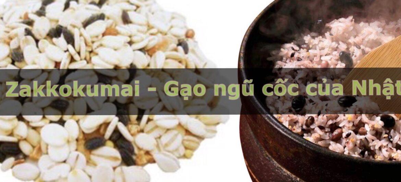 Gạo ngũ cốc của Nhật