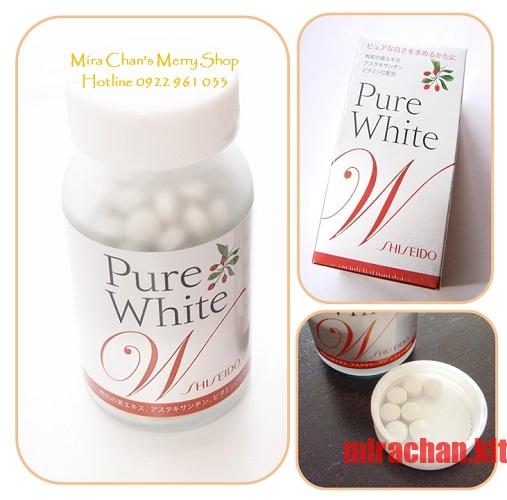 Viên uống Shiseido Pure White W