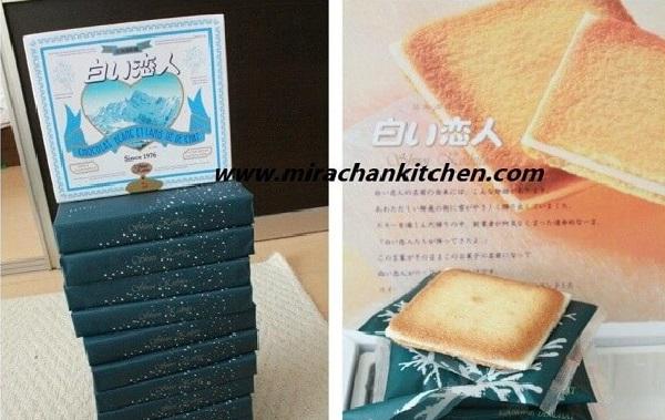 Order bánh Shiroi Koibito