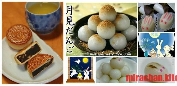 Moon cake - Tsukimi Dango