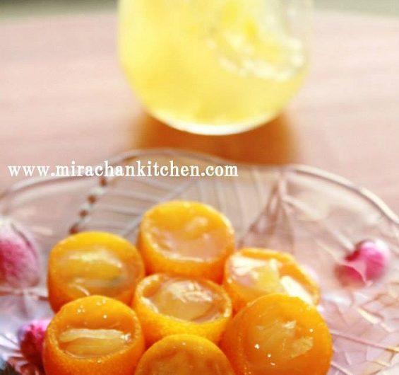 Jelly trái quất - 金柑のゼリー