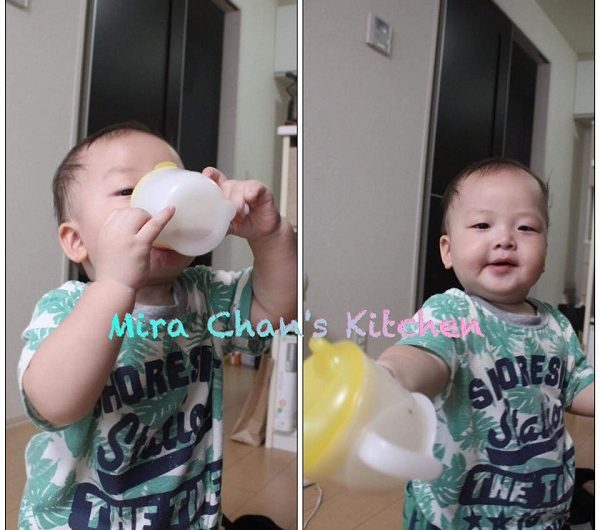 Tập cho bé uống bằng ly