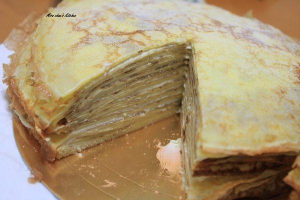 Custard Cream Crepe
