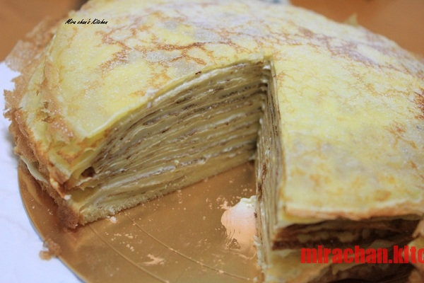 Custard Cream Crepe