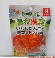 Mì ống sốt cà chua, rau củ cho bé từ 9th trở lên