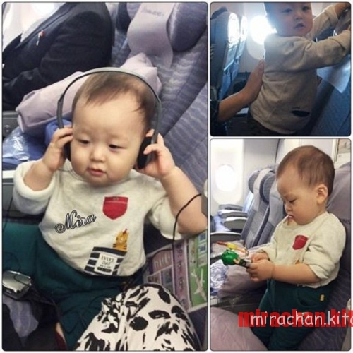 Chia sẻ kinh nghiệm cho em bé đi máy bay (14 tháng)