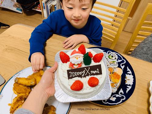 Bánh kem dâu tây Giáng Sinh ở Nhật