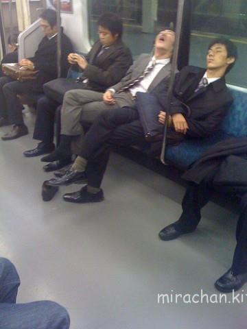 sleeping-salaryman