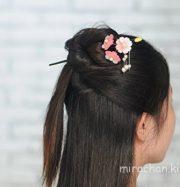 Trâm cài tóc hoa anh đào