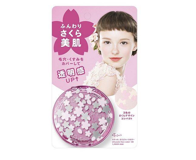 Phấn che khuyết điểm dưỡng trắng da Ettusais Sakura Face Color