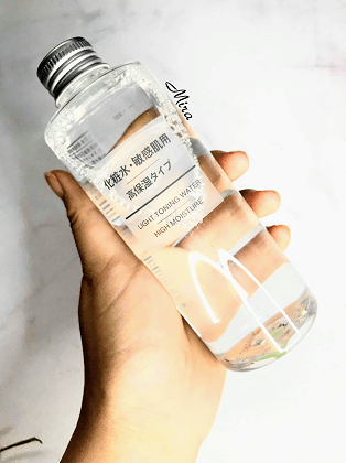 Nước hoa hồng Muji Light Toning Water