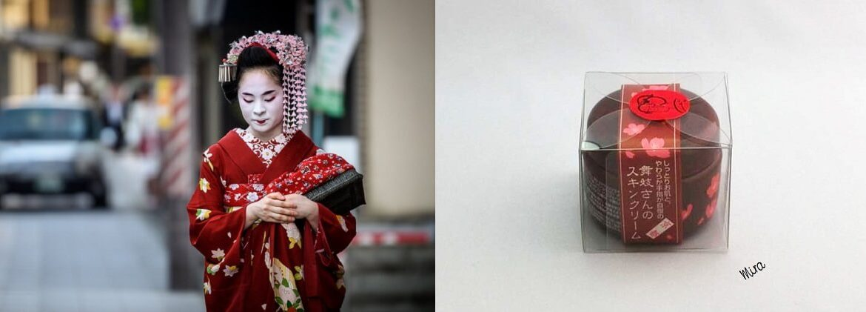 kem dưỡng da của nàng geisha