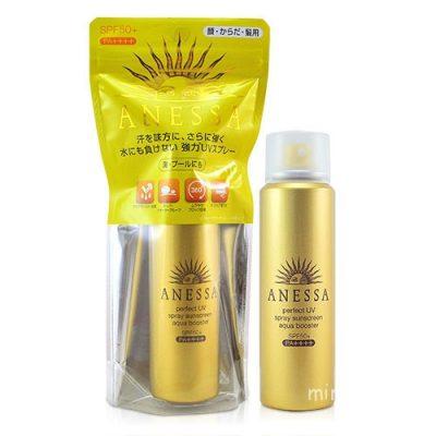 Anessa Perfect UV Spray Sunscreen Aqua Booster