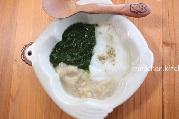 Cách chế biến các món ăn dặm kiểu Nhật từ rau chân vịt