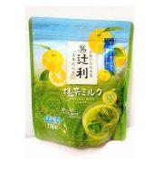 Matcha milk yuzu