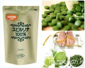 Spirulina- Thực phẩm duy trì sức khỏe