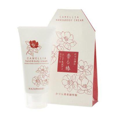 Kem dưỡng da tay và toàn thân chiết xuất hoa trà, thảo mộc hữu cơ - Kazurasei Camellia Hand and Body Cream