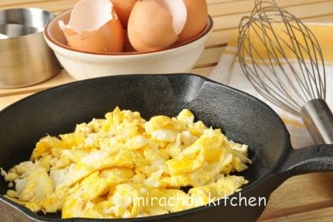 ăn dặm với trứng