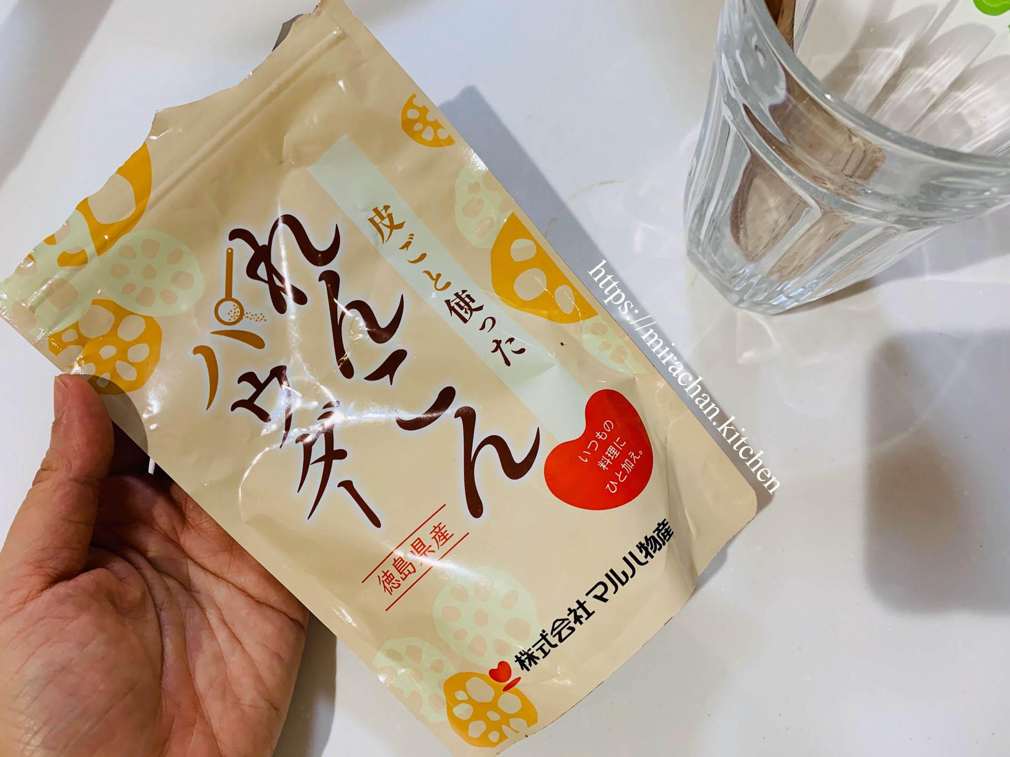 bột củ sen của Nhật