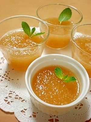 jelly dessert táo
