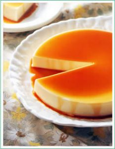 bánh pudding kanten