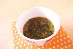 soup miso rong biển