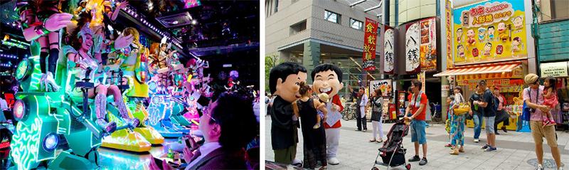 văn hóa ở tokyo và osaka