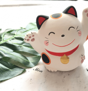 Meo Maneki Neko tam the cau may man