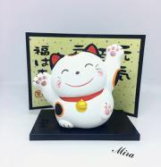 Mèo Maneki Neko tam thể cầu sức khỏe