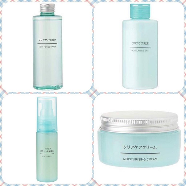 Muji clear care